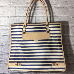 Rebecca Minkoff Diamond Striped Tote Bag
